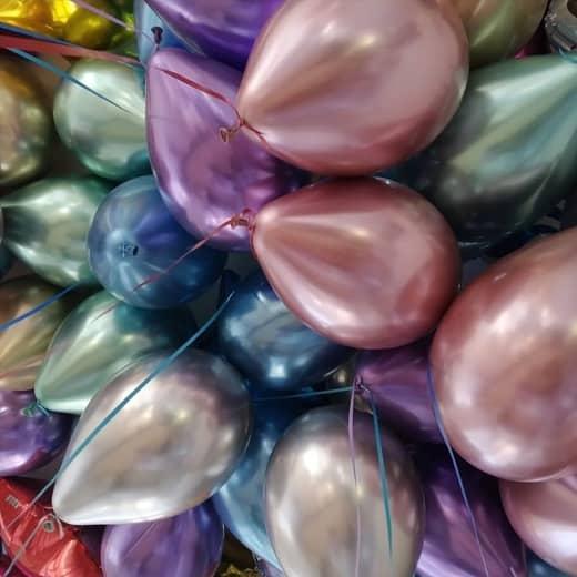 хромированные-воздушные-шары